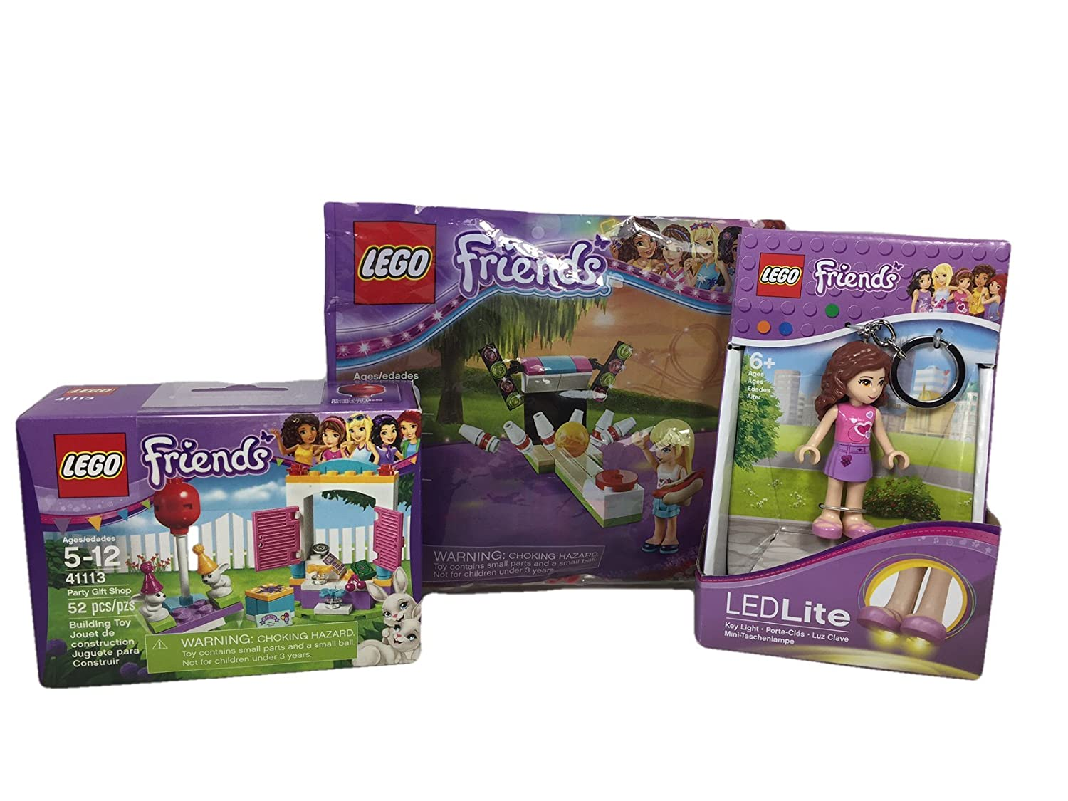 Amazon.com : LEGO Friends Themed Small Easter Basket Bundle with Candy: 8 Items (Olivia) : Grocery & Gourmet Food