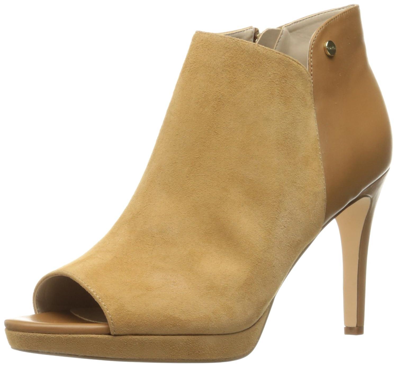 Calvin Klein Women's Matilde Ankle Bootie B01H5DF4VE 8.5 B(M) US|Almond Tan