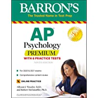 Image for AP Psychology Premium: With 6 Practice Tests (Barron's Test Prep)
