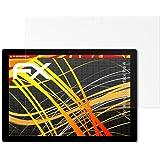 Microsoft Surface Pro 4 Displayschutzfolie - 2 x atFoliX FX-Antireflex-HD hochauflösende entspiegelnde Schutzfolie Folie