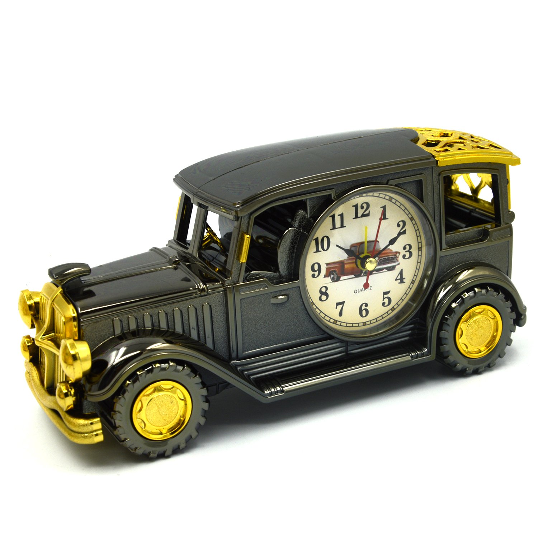 Clásico coche Vintage modelo mesa escritorio despertador Reloj de ...