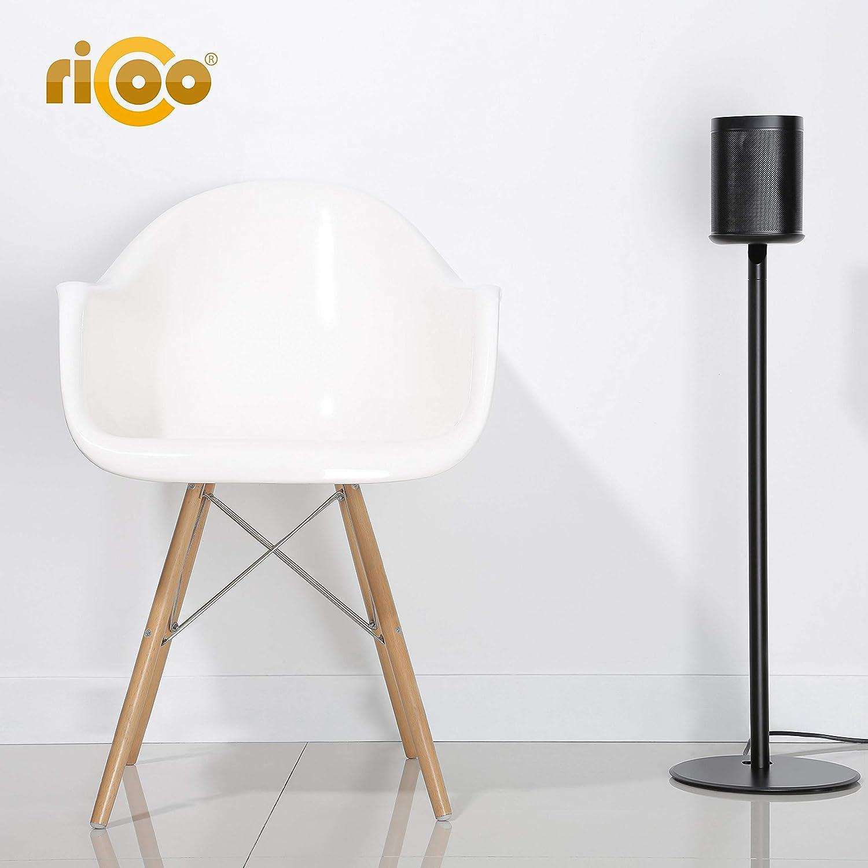 RICOO Support sur Pied LH054-F pour Sonos One /& One SL et Play:1 Pied de Haut-Parleur Bluetooth Noir 1 pi/èce Base de Haut-Parleur WiFi WLAN Airplay r/éhausseur Moderne
