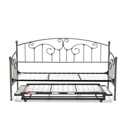 Fashion Bed Group B50F79 Hinsdale DB w, With Link Spring and Trundle Bed Pop -