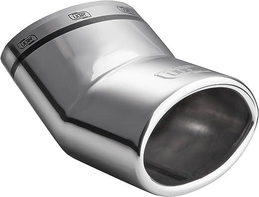 WaWeiY 1pc Posteriore del Tubo Tubo di Scarico for Smart Fortwo 453 Forfour Marmitta Rimontare in Acciaio Inossidabile cromati Modificato Coda Posteriore della Gola Color : Silver