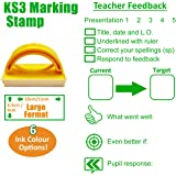 Presentation/Target Setting/Student Response Marking Large (6x11cm) Teacher Stamp (Green)