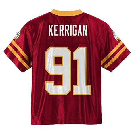 4b674a60d38ca Outerstuff Ryan Kerrigan Washington Redskins #91 Red Boys Home Player Jersey  (X-Small