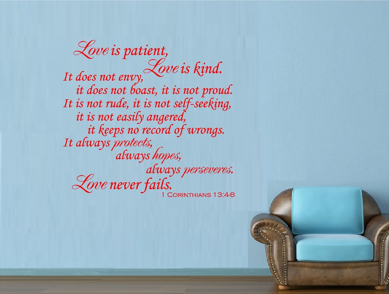 Love is kind wall decor