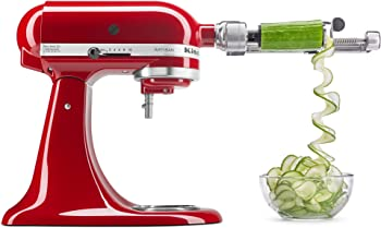 KitchenAid Spiralizer Peel Core Slice Attachment Fit all Stand Mixers