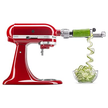 KitchenAid KSM1APC Spiralizer Attachment 1  Silver