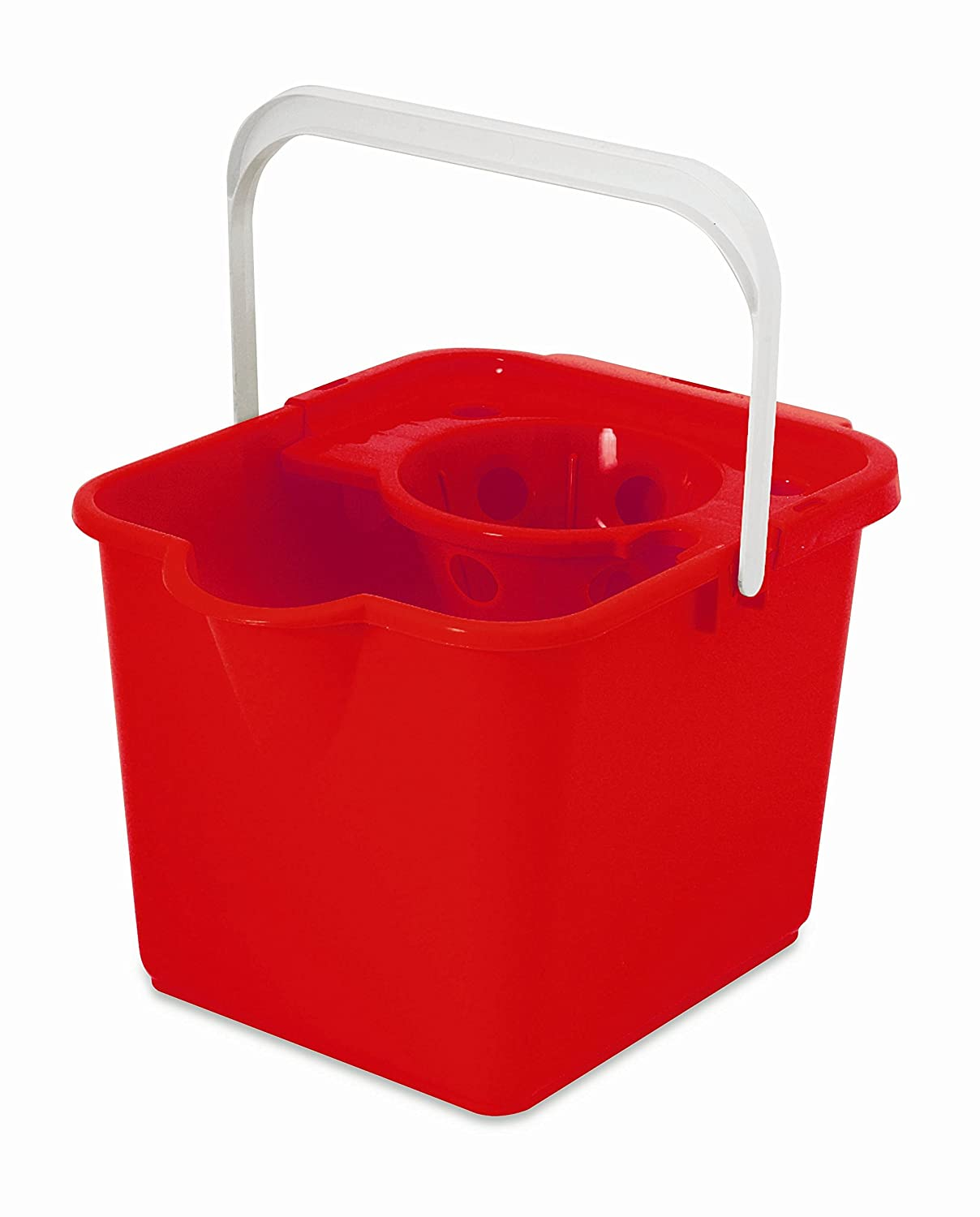 ADDIS 12 Litre Mop Pail and Wringer, Green 510253