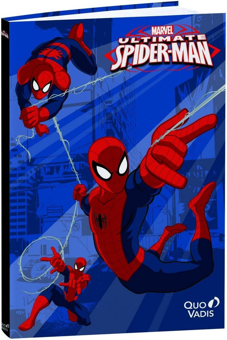 Quo Vadis- Diario Scolastico Con Motivo'spiderman', 15 X 21 Cm [Lingua Italiana Non Garantita]
