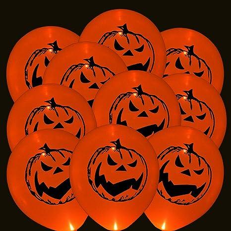32 pezzi Palloncini a zucca a LED Luci di palloncini Palloncino d ardore  luci lampeggianti 26106a7bcb68
