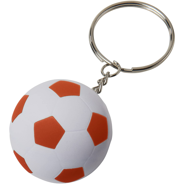 Bullet - Llavero con pelota de fútbol (9.5 x 4 cm) (Blanco ...
