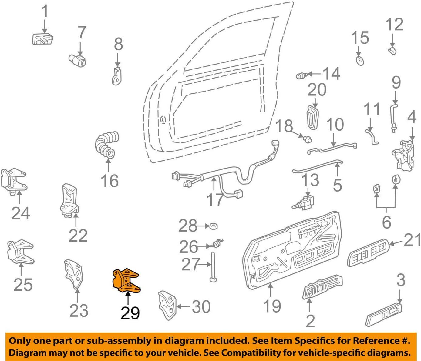 GM OEM FRONT DOOR-Hinge Assembly Bushing 16632193