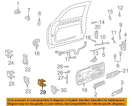 amazon com gm door hinge bushing 16632193 automotive rh amazon com
