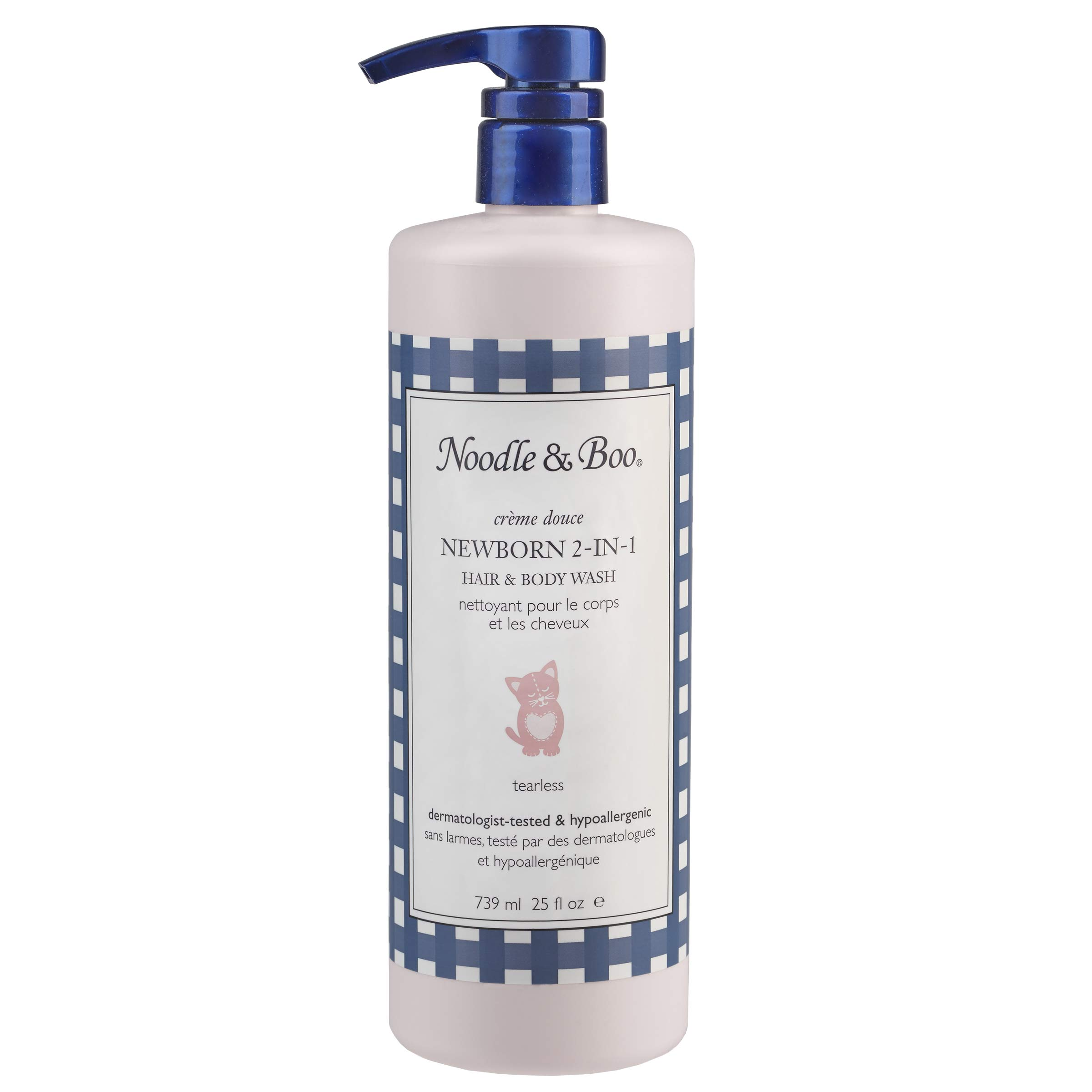 Noodle & Boo 2-in-1 Newborn Hair & Baby Body Wash for Baby, 25 Fl Oz by Noodle & Boo