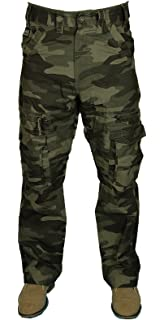 1c0ecc9337 Kam Mens 2 in 1 Trousers to Shorts Casual Cargo Combat Pockets Pants ...