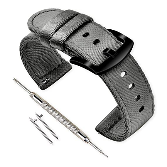 Vinband Correa Reloj Calidad Alta Nylon Correa Relojes - 18mm ...