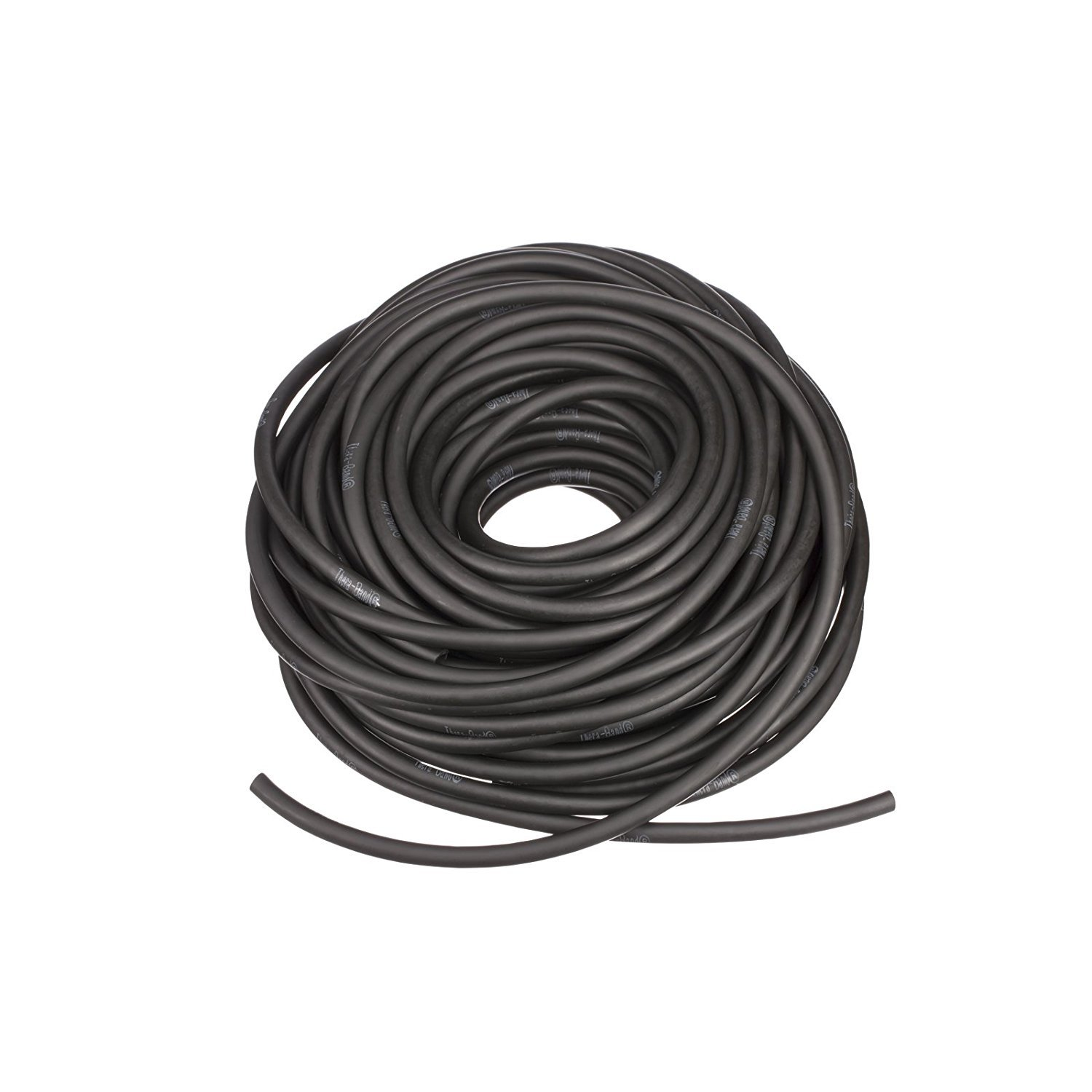 TheraBand Special Heavy Weight Resistance Tubing 30.5 m Black