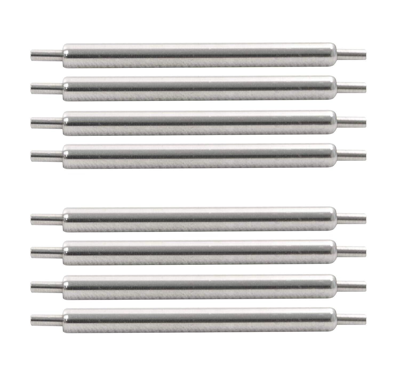 MARATHON Swiss Made Stainless Steel Shoulderless Spring Bars