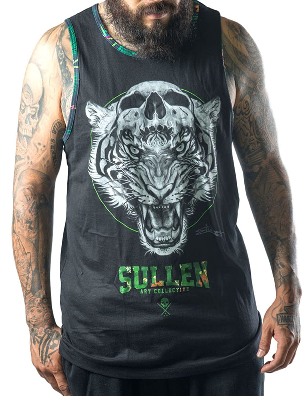 Sullen Clothing Men's Vest Black Black