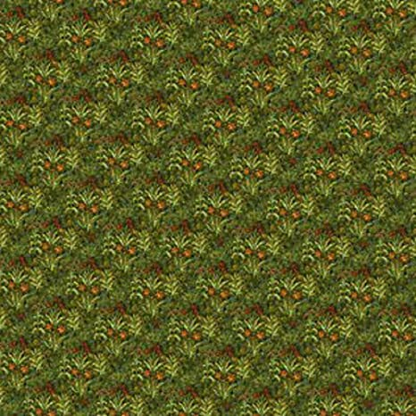 Melody Jane Dolls House Miniature Print 1:12 Tudor Wallpaper Field of Flowers