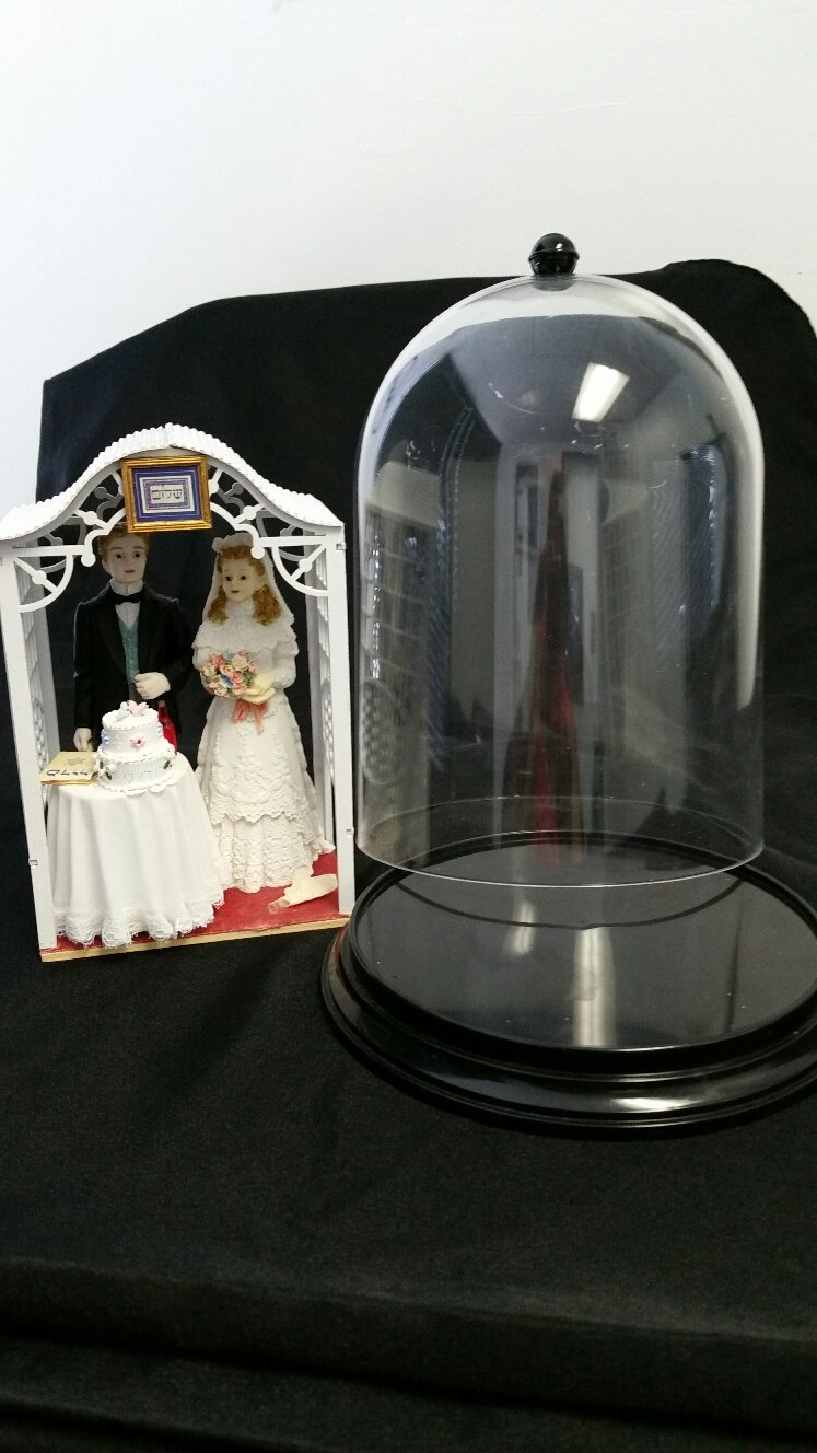 Jewish Wedding Cake Topper - One of a kind