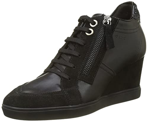 Geox D Eleni C, Zapatillas Altas para Mujer: Amazon.es: Zapatos y complementos