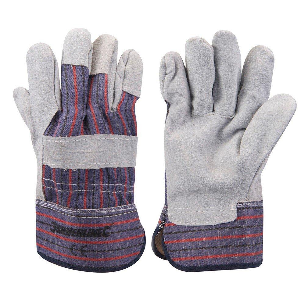 Silverline 633501 Expert Rigger Gloves, One Size SLTL4