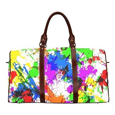 54 Custom Waterproof Travel Tote Bag Duffel Bag Crossbody Luggage handbag
