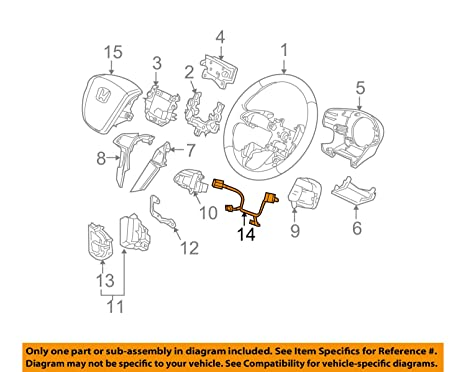 Genuine Hyundai 56110-2E541-WK Steering Wheel Assembly