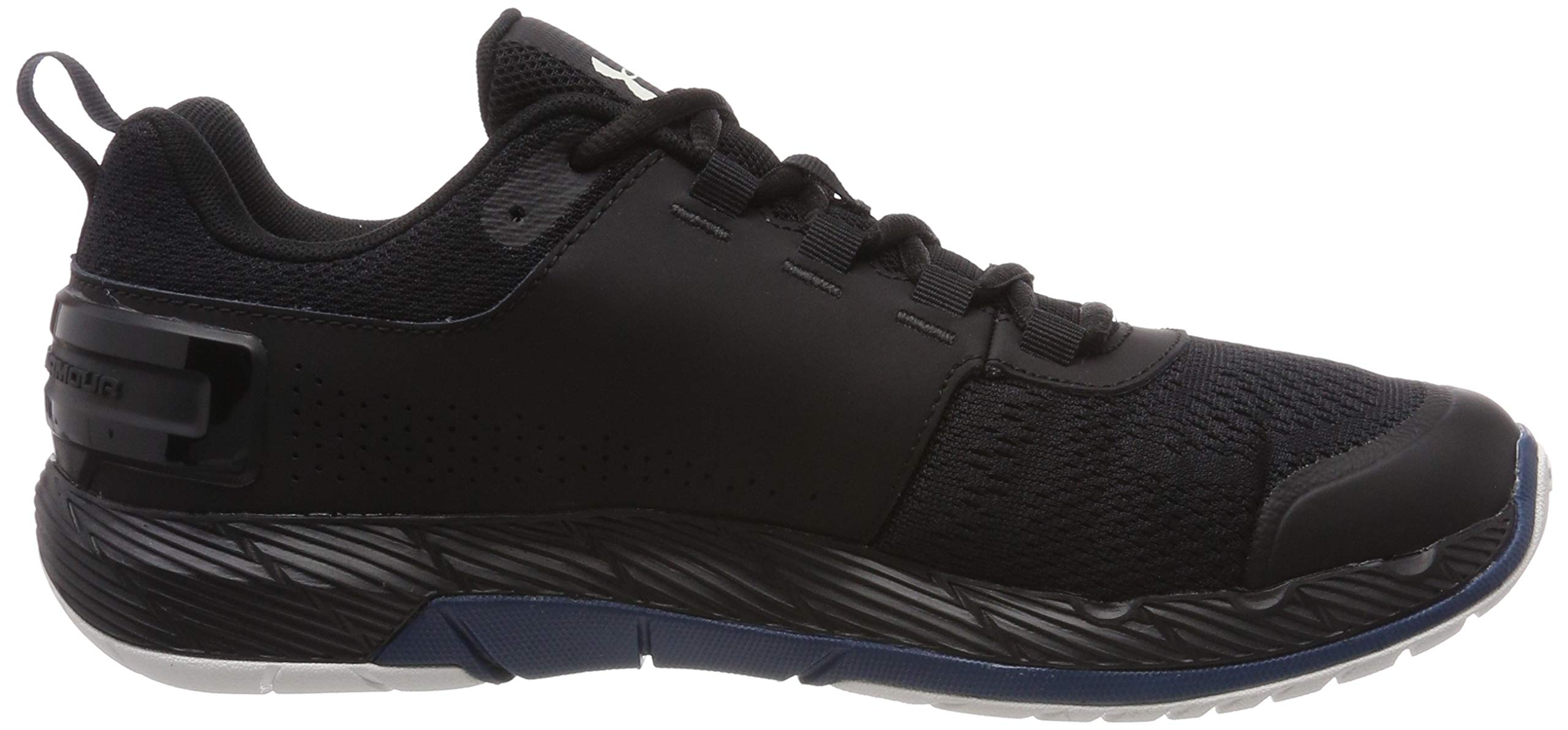 Under Armour Men's Commit TR EX Sneaker, Black (008)/Petrol Blue, 7.5 M US by Under Armour (Image #5)