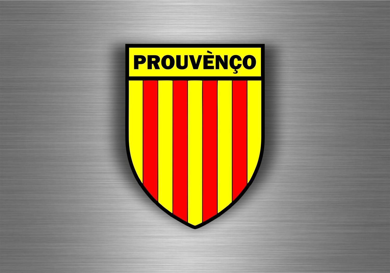 Akacha Aufkleber fü r Auto, Motorrad, Wappen / Flagge der Provence (Prouvè nç o) SKU007416