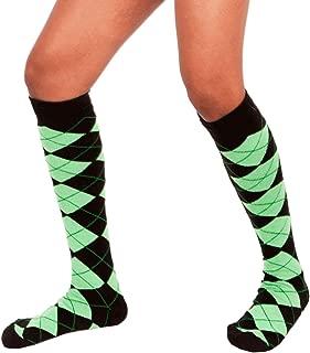 product image for Chrissy's Socks Women's Argyle Knee High Socks