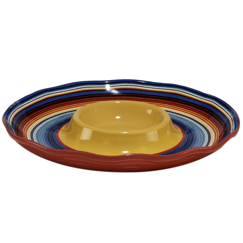 Certified International Pinata Chip & Dip, 13.5, Multicolor 13.5 16041