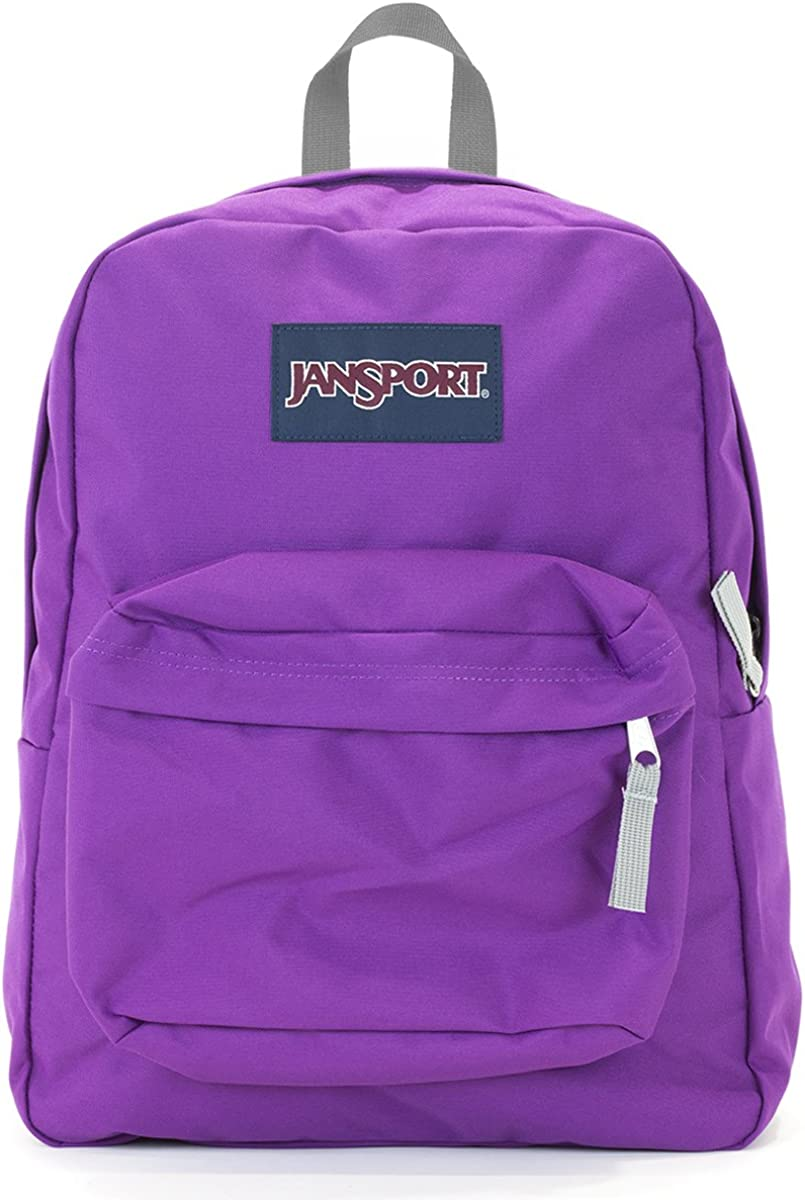 Jansport Superbreak Backpack purple plum