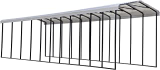 product image for Arrow Shed 14' x 51' x 14' 29-Gauge Metal RV Carport and Multi-Use Shelter for Large Vehicles, 14' x 51' x 14', Eggshell