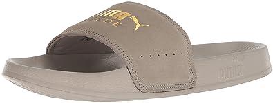 7d4c1a3dc848 Amazon.com  PUMA Men s Leadcat Suede Slide Sandal  Shoes