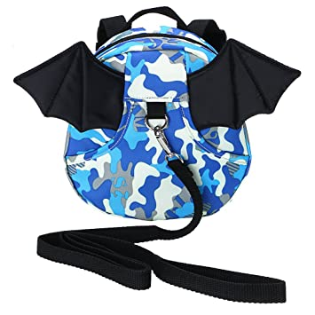 df761d91c6aa Hipiwe Baby Toddler Walking Safety Backpack with Leash Little Kid Boys  Girls Anti-Lost Travel Bag...