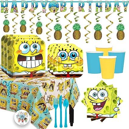 Amazon.com: Paquete de suministros de fiesta de cumpleaños ...
