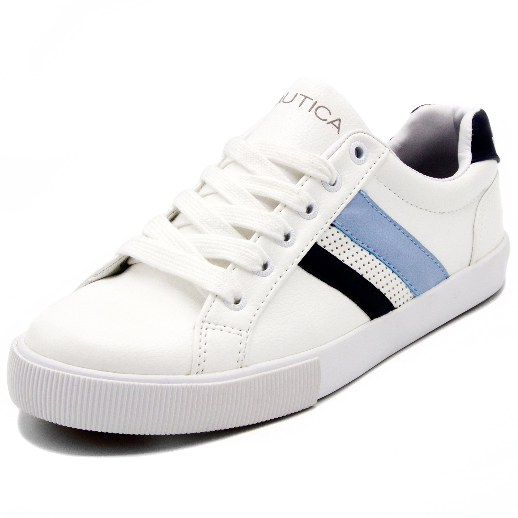 Nautica Steam 4 Women Lace - Up Fashion Sneaker Casual Shoes -Peacoat Multi-7