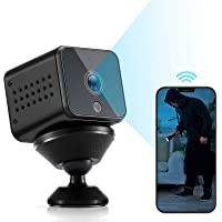Spy Camera Mini WiFi Hidden Camera HAOHUNT HD 1080P with Audio Motion Detection Night Vision Nanny Surveillance Camera…