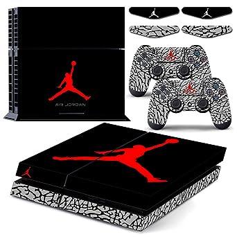 hot sales c5c01 86bcb PS4 Air Jordan Waterproof Vinyl Skin Decal Cover for ...