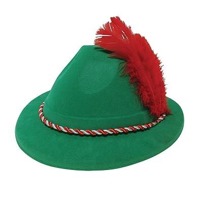 Oktoberfest Mens Ladies Costume Accessory German Bavarian Hat Adults Fancy Dress: Juguetes y juegos