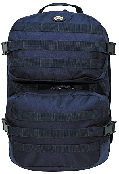 513b619017 MFH Backpack Assault II Blue  Amazon.co.uk  Sports   Outdoors
