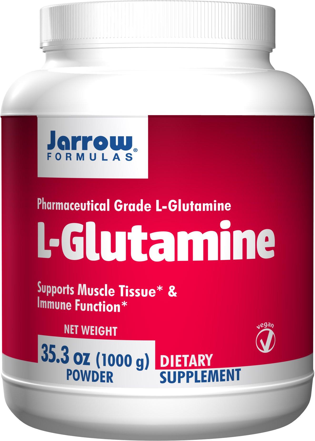 Jarrow Formulas - Jarrow Formulas, L-Glutamine, 35.3 oz (1000 g) Powder (TRIPLE PACK) (Pack of 3)