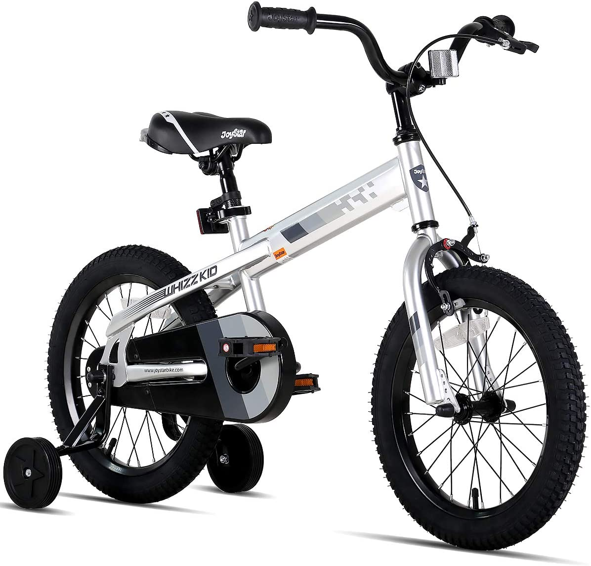 JOYSTAR Whizz Kids Bike with Training Wheels for Ages 2-9 Years Old Boys and Girls, 12 14 16 18 Toddler Bike with Handbrake for Children