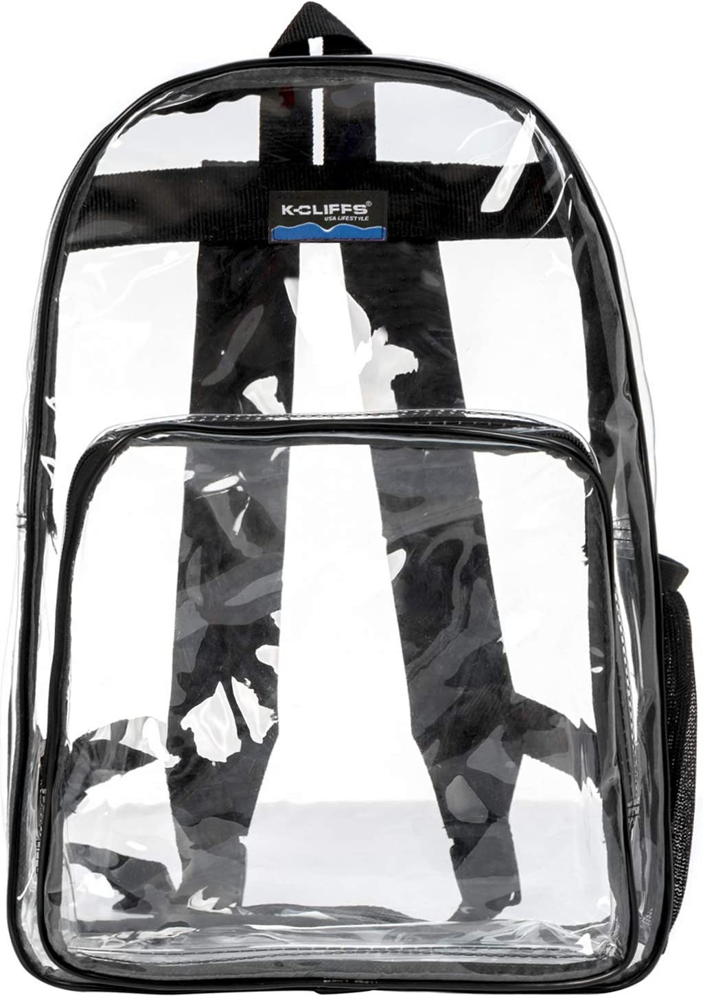 """Clear Classic Backpack for Security Checkpoint 