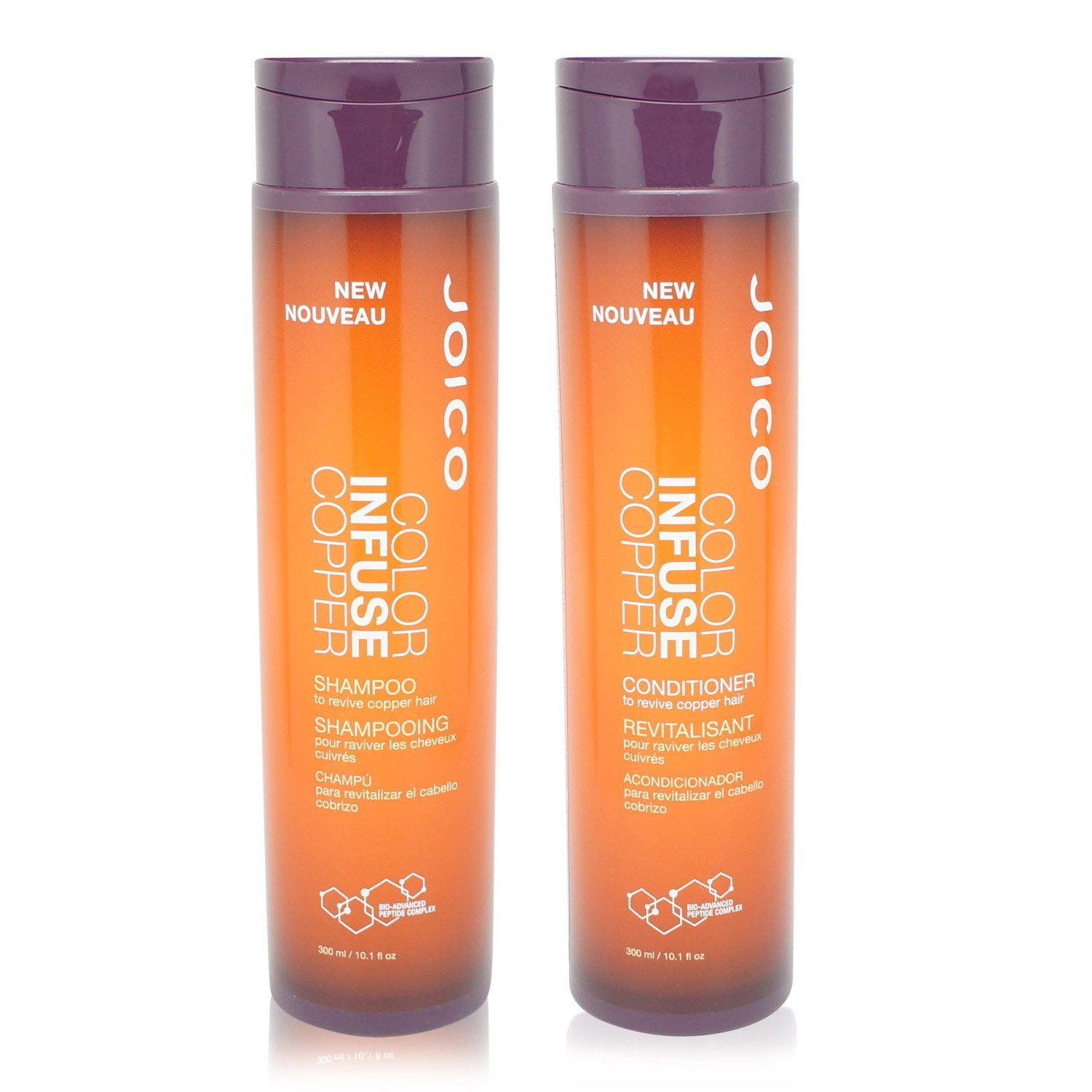 Joico Color Infuse Copper Shampoo and Conditioner 10.1 Oz Duo