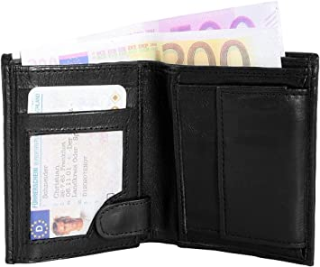 83aa2e6ac5aea Monopol Herren Geldbörse aus Echtleder